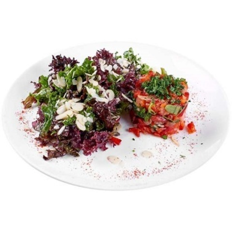 Салат з овочевою сальсою