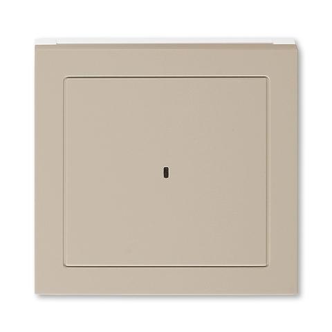 Лицевая панель карточного выключателя. Цвет Кофе макиато / белый. ABB. Levit(Левит). 2CHH590700A4018