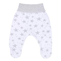 Mini Fox. Комплект для новорожденных швами наружу 3 предмета, серые звезды вид 3