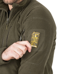Куртка флисовая Helikon Alpha Tactical Jacket Grid Fleece, Navy Blue, новая
