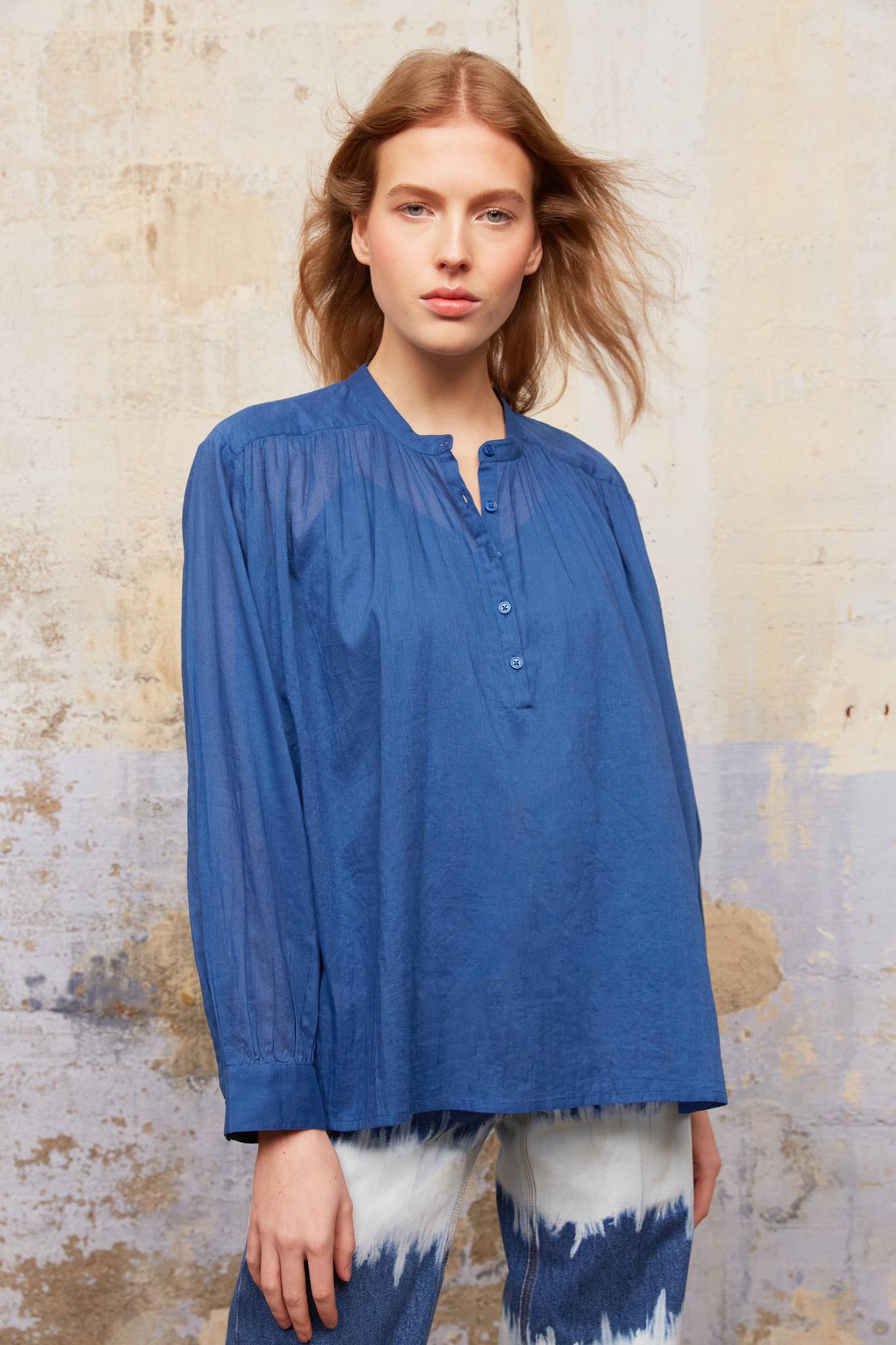 NAHEL - Хлопковая блуза оверсайз