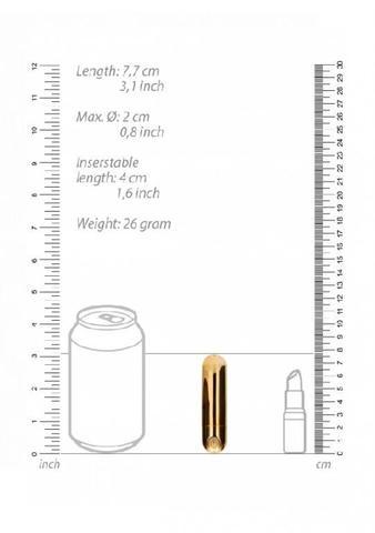 Перезаряжаемая вибропуля BGT - 7 Speed Rechargeable Bullet
