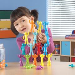 Разноцветные строители (32 элемента) Learning Resources, арт. LER1081
