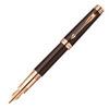 Parker Premier - Soft Brown PGT, перьевая ручка, F, BL