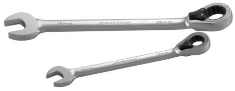 W60118 Ключ гаечный комбинированный трещоточный с реверсом, 18 мм