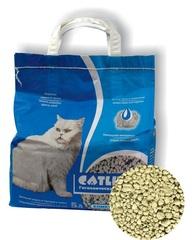 Наполнитель для кошачьего туалета, Catlitter комкующийся