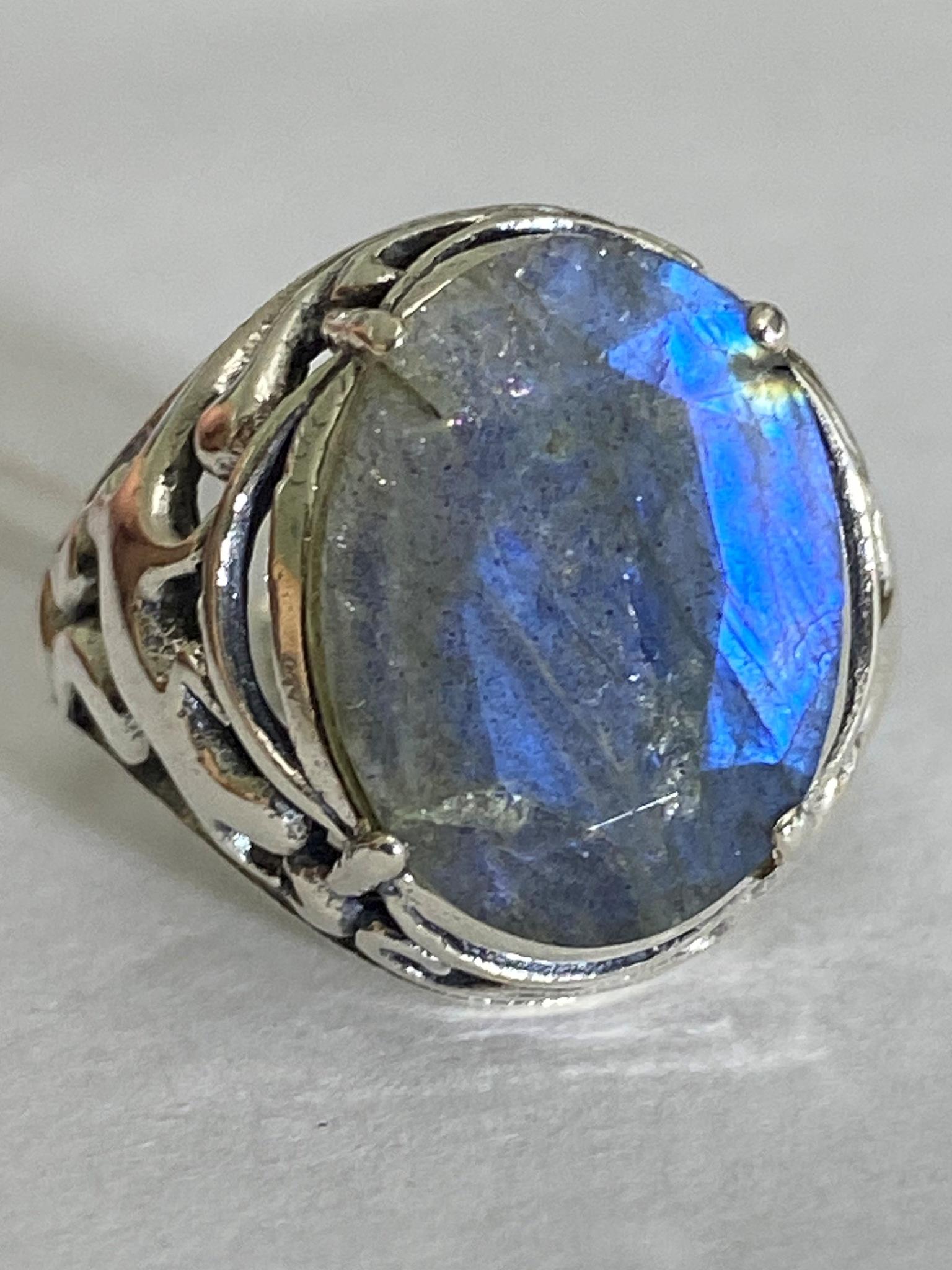 Богема (кольцо из серебра)