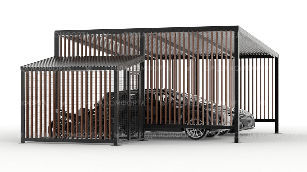 Навес для автомобиля AVNVS0055