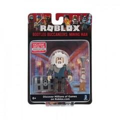 Игровая коллекционная фигурка Jazwares Roblox Core Figures Bootleg Buccaneers: Mining Man W6
