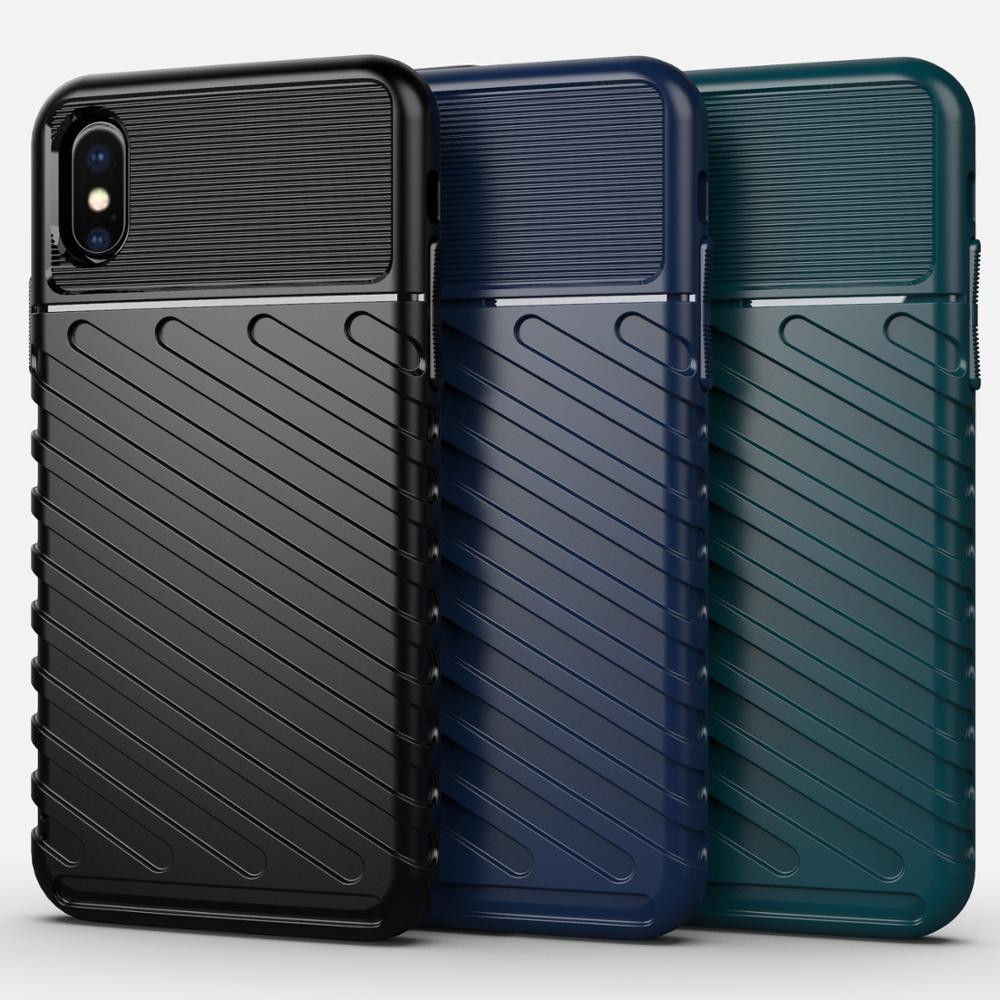 Чехол iPhone XS Max цвет Blue (синий), серия Onyx, Caseport