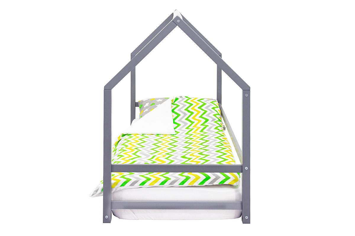 Кровать-домик Монтессори «Svogen» графит