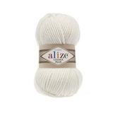 Пряжа Alize Lanagold Plus молочный 62