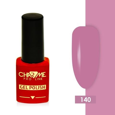 Гель-лак 140 - розовая фуксия Charme 10 мл