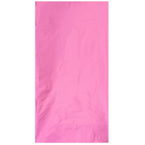 Скатерть блестящая розовая 130х180см