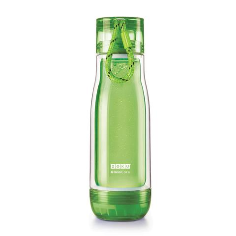Бутылка стеклянная Zoku 475 мл зеленая