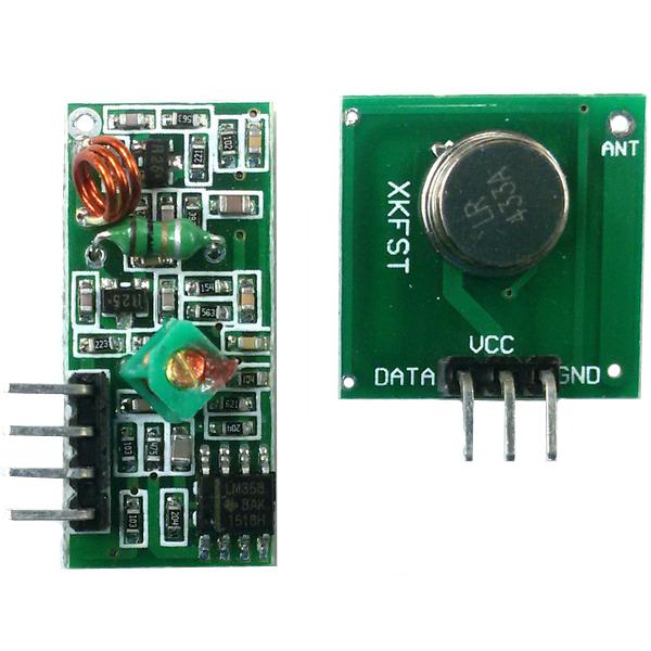 Беспроводной приемник+передатчик 433 МГц