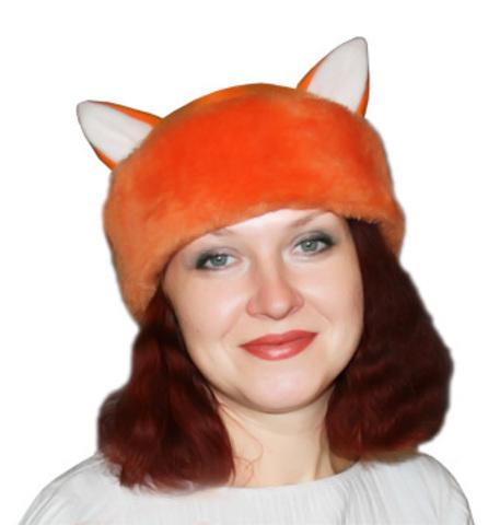 Карнавальная шапка Лисы