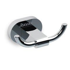 Крючок двойной Ravak Chrome CR 100.00 X07P186 фото