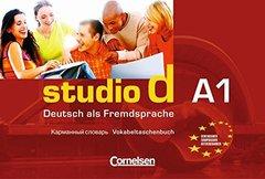 Studio d  A1 Vokabeltaschenbuch Deutsch-Russi