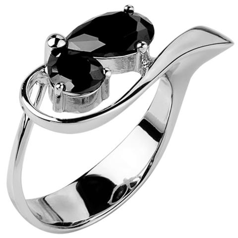 Кольцо из серебра с нано шпинелью Арт.1058н-шп
