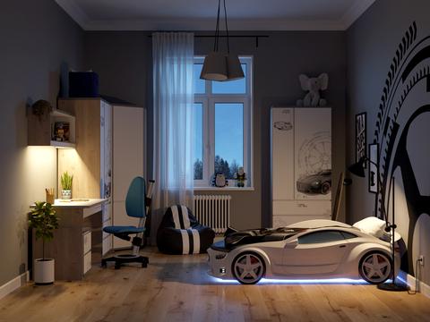 Комплект мебели Black&White Style