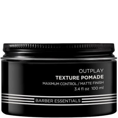 Redken Brews: Текстурирующая помада для мужских волос (Outplay Texture Pomade), 100мл