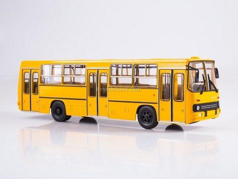 Ikarus 260 planetary doors yellow Soviet Bus (SOVA) 1:43