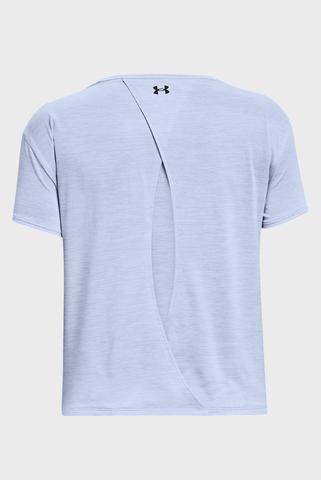 Женская голубая футболка UA Tech Vent SS-BLU Under Armour