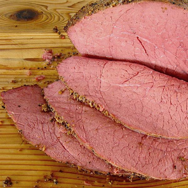 Фотография Пастрами из свинины / 400 гр купить в магазине Афлора