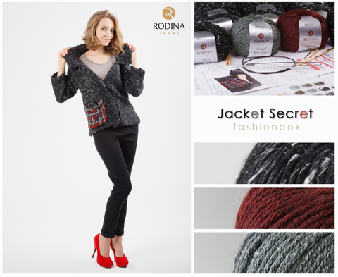 JACKET SECRET Fashionbox by Rodina Yarns