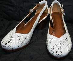 Летние женские туфли Marani Magli 031 405 White.