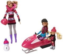 Набор Барби Сестры на зимнем воздухе  Barbi