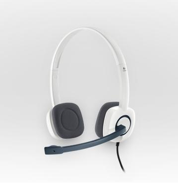 LOGITECH H150 Stereo Headset Cloud White