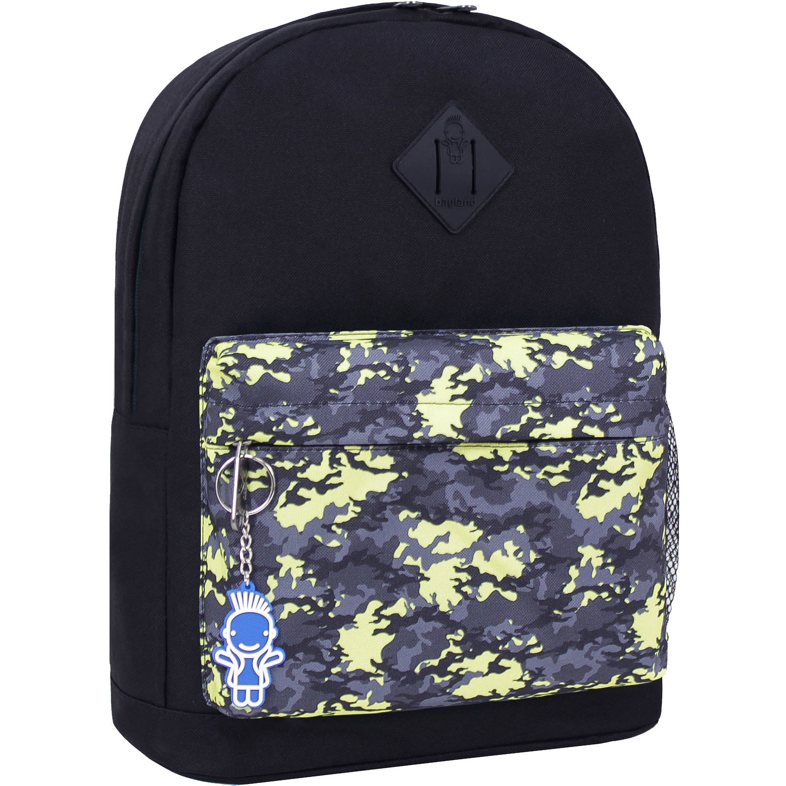 Городские рюкзаки Рюкзак Bagland Молодежный W/R 17 л. черный 454 (00533662) IMG_2530_454_-1600.jpg