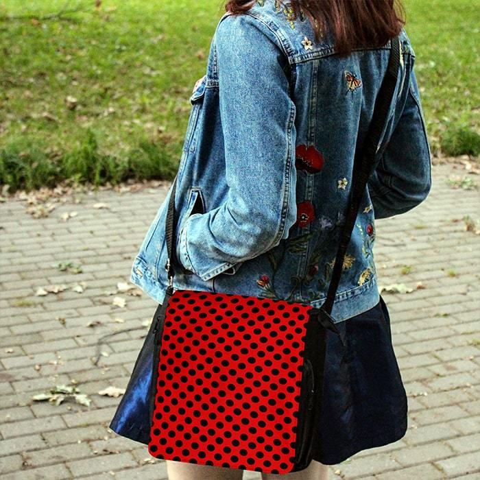 Сумка с расцветкой Леди Баг - купить в интернет-магазине kinoshop24.ru