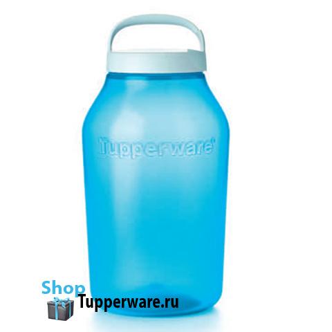 Чудо банка 4,5л Tupperware в синем цвете