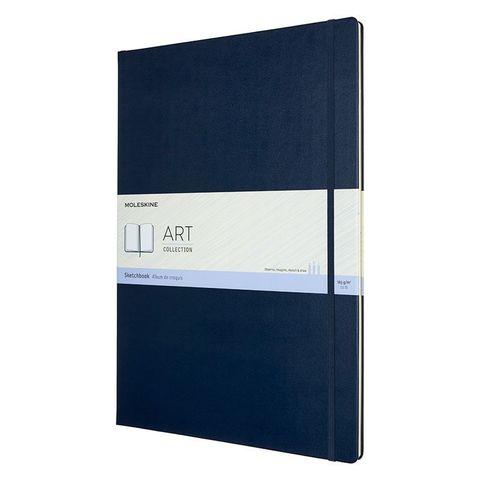 Блокнот Moleskine ART SKETCHBOOK ARTBF851B20 A3 104стр. твердая обложка синий сапфир