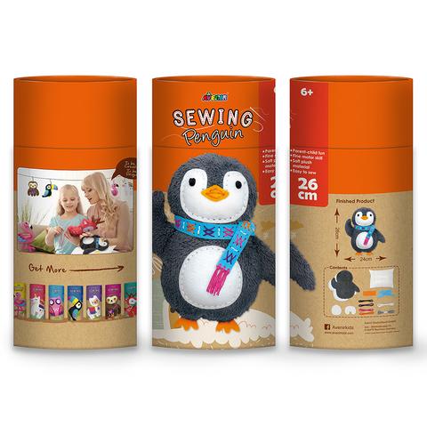 Набор для шитья. Мягкая игрушка: пингвин. Avenir