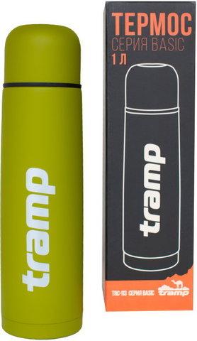 Термос 1,0 л. Tramp TRC-113 (оливковый)