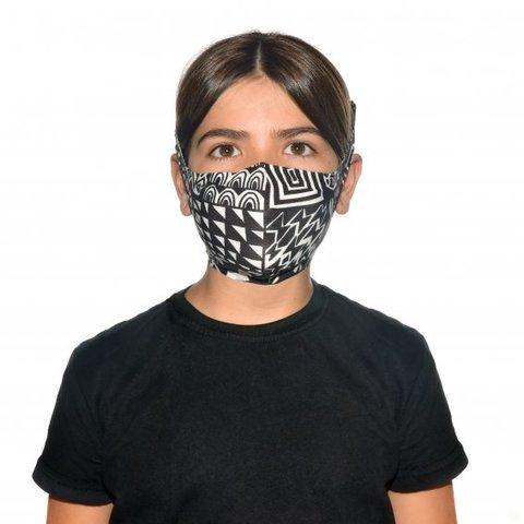 Маска защитная детская Buff Mask Bawe Black фото 2