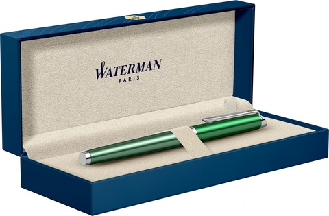 Ручка-роллер Waterman Hemisphere French riviera CHATEAU VERT в подарочной коробке123