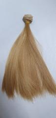 Волосы для кукол, трессы прямые, 25 см*1 метр.