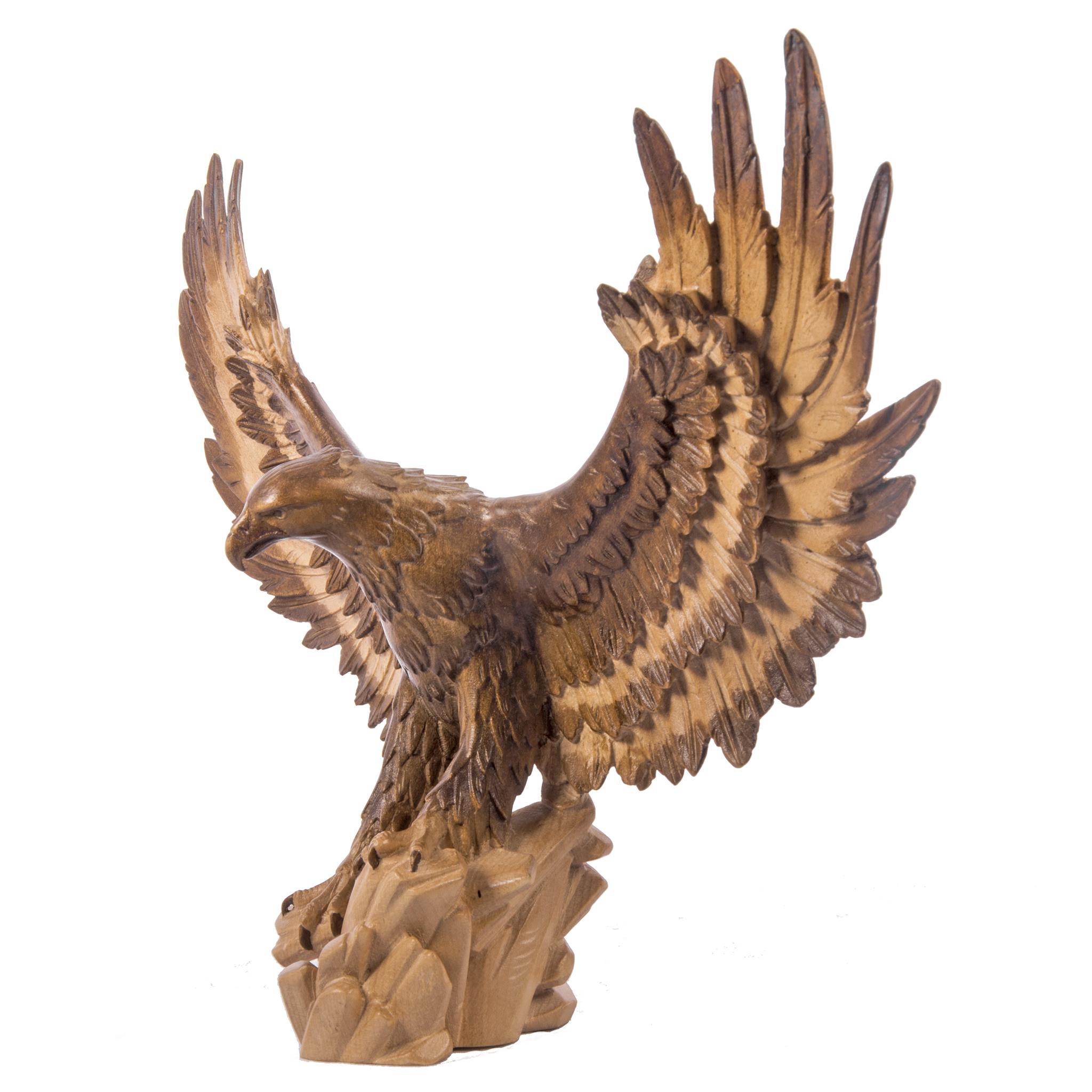 Статуэтка деревянный Орел