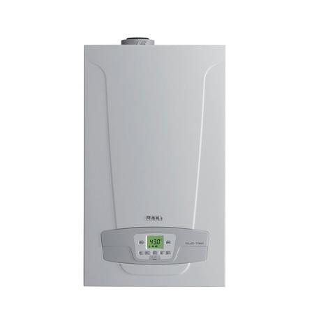 Котел газовый конденсационный BAXI Duo-tec Compact 28 (двухконтурный, закрытая камера сгорания)