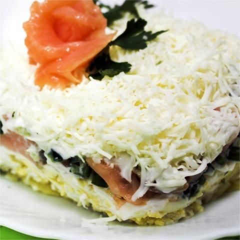 Салат из сёмги 1 кг