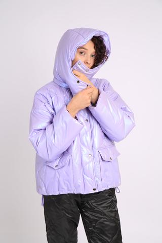 Куртка из водоотталкивающей плащевой ткани