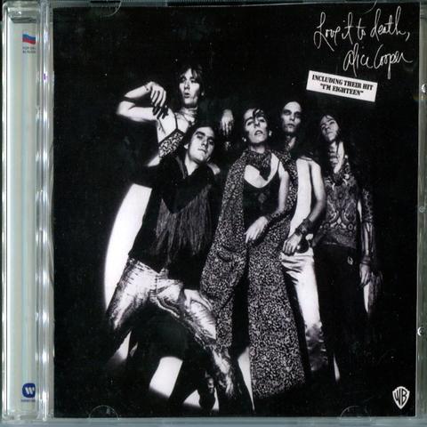 Alice Cooper / Love It To Death (RU)(CD)