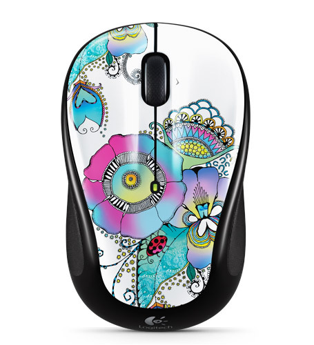 LOGITECH M325 Lady on the Lily