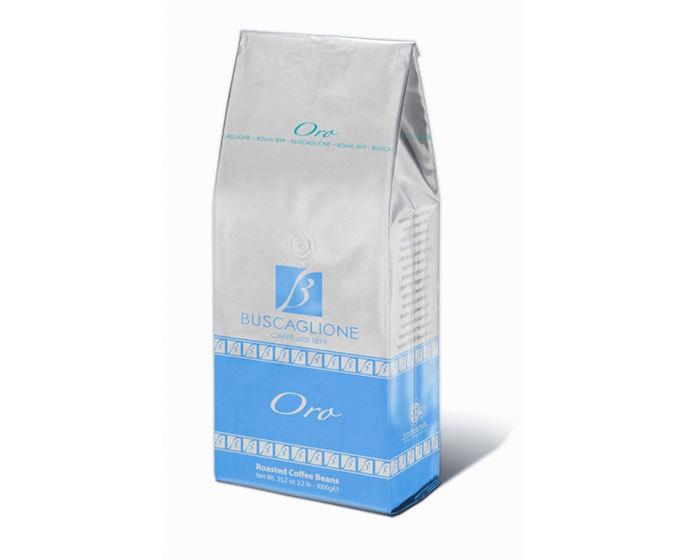 Кофе в зернах Buscaglione Export Oro, 1 кг (Бускальоне)