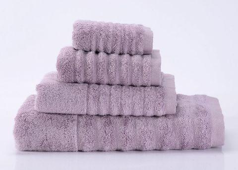 Wellness-7 сиреневое махровое  полотенце Valtery